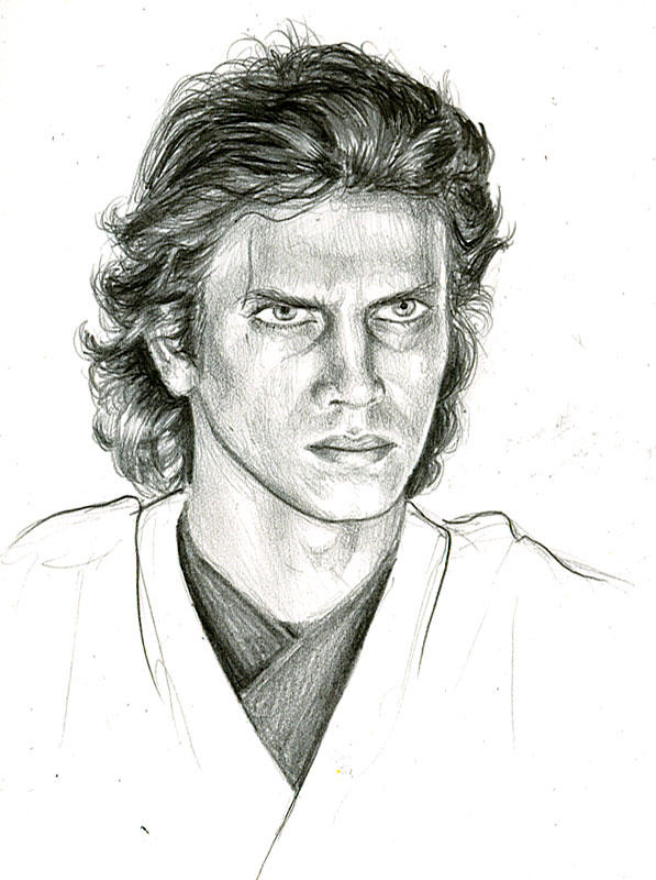 anakin sketch by bamboleo