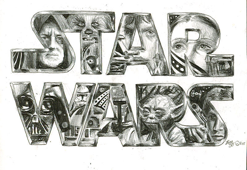 star wars sketch by bamboleo