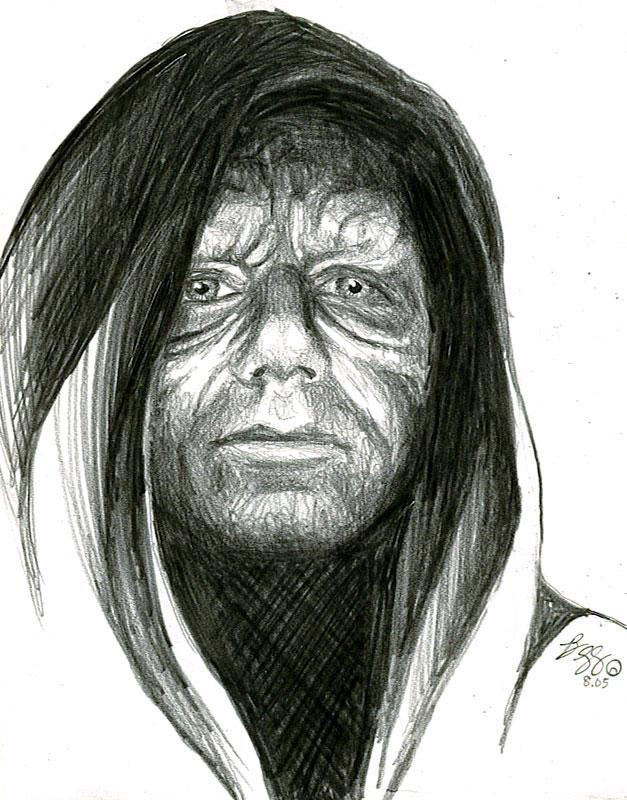 emperor palpatine sketch by bamboleo