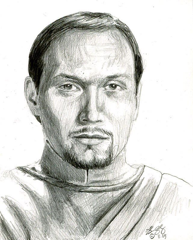 bail organa sketch by bamboleo