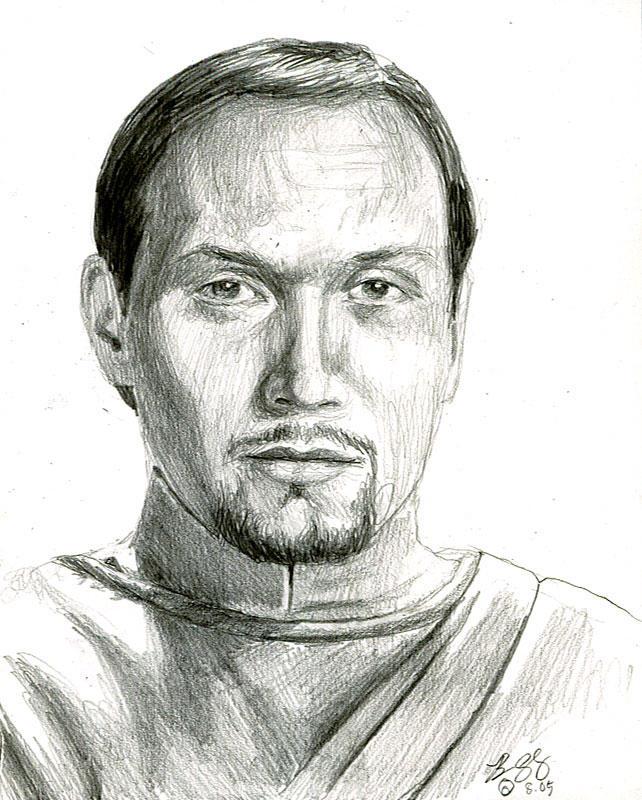 bail organa sketch by bamboleo