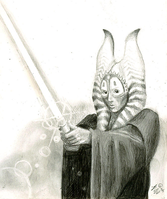 shaak ti sketch 2 by bamboleo