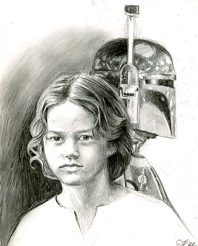 young boba fett 1 by bamboleo