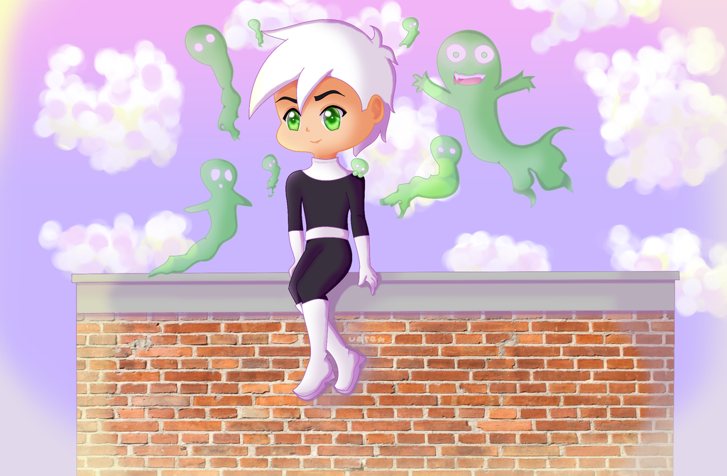 Danny Phantom ghosts by ChesCayk