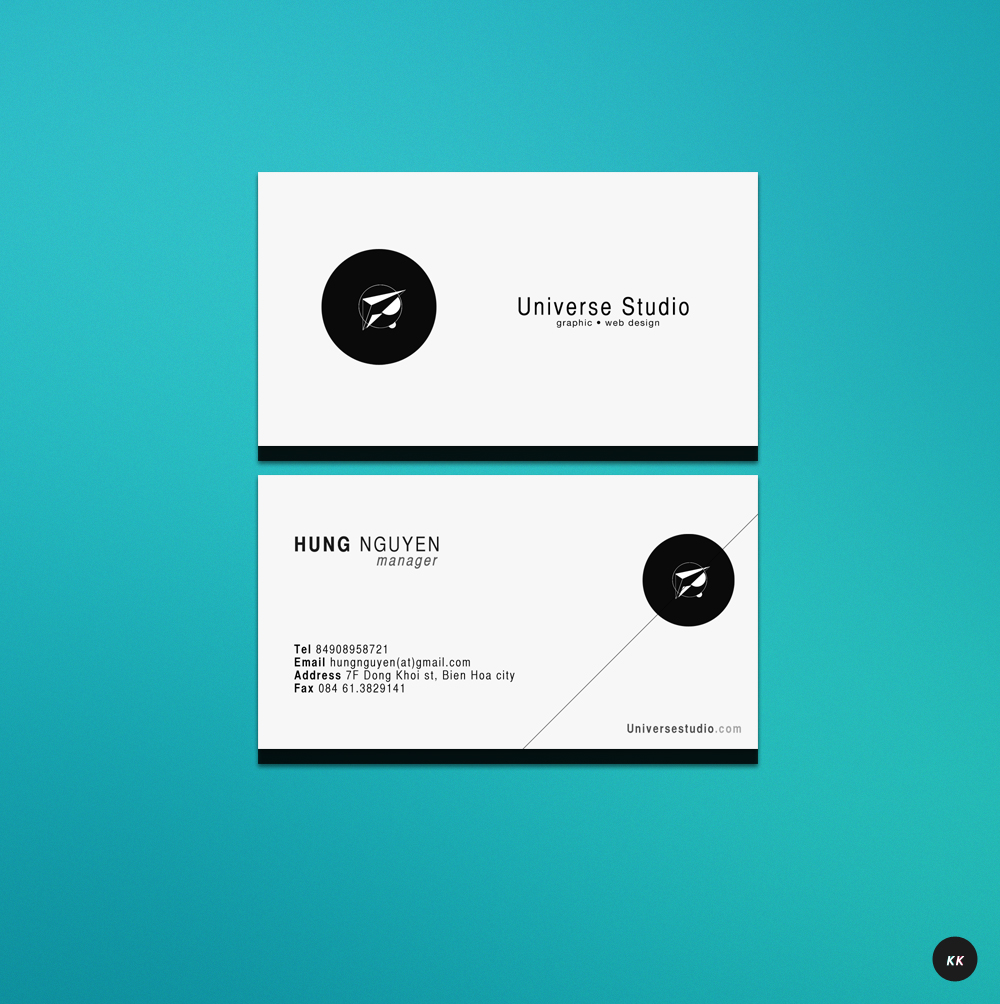 Business card 01 by pk1st