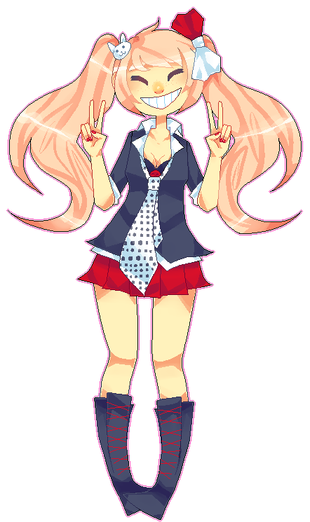 SHSL cutie by Kuripu