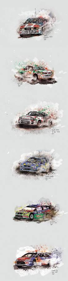Rally Car Legends