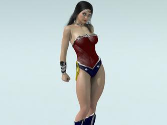 Wonder Woman by bigcurf