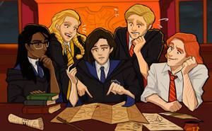Hogwarts Mystery by FionaSpooks