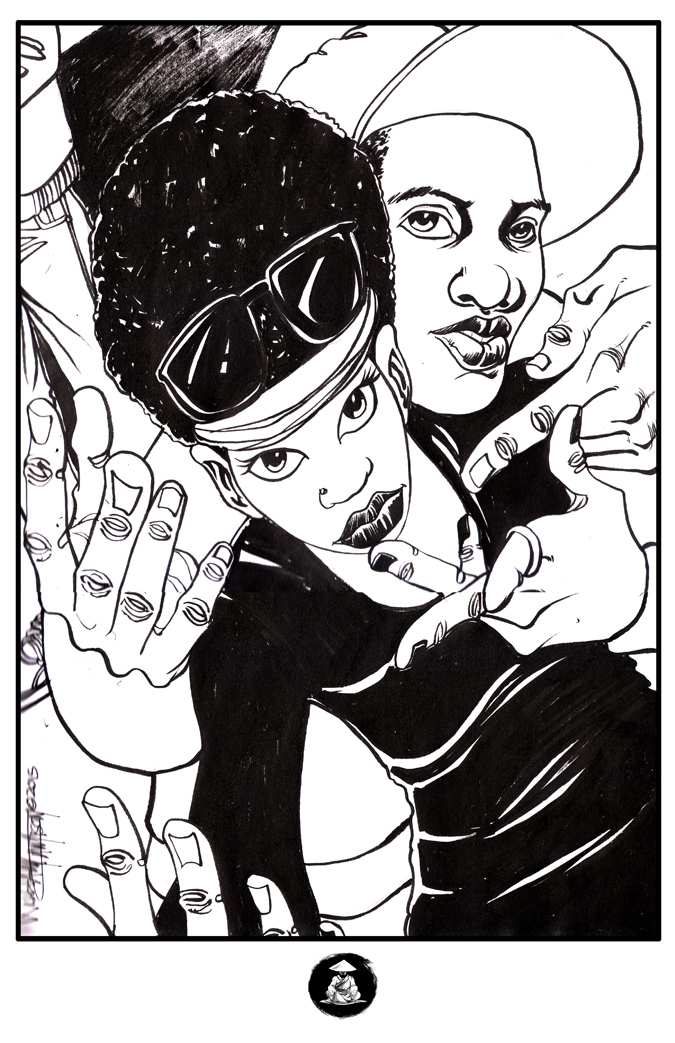 Blk Ink 11 by afromation