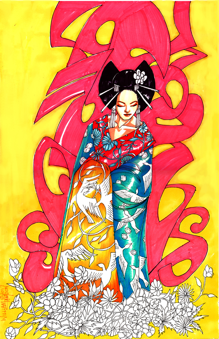 Geisha by afromation