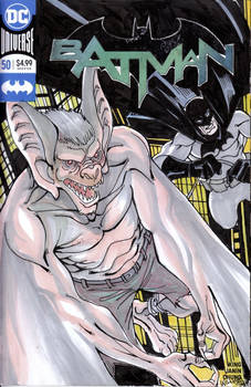 Bats vs. the Bat cover