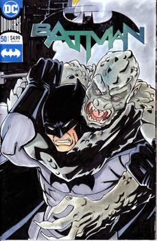 Bats vs. Croc cover