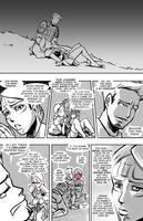 DAO Mage vs. Templar by savagesparrow