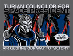 Turian Councilor for President