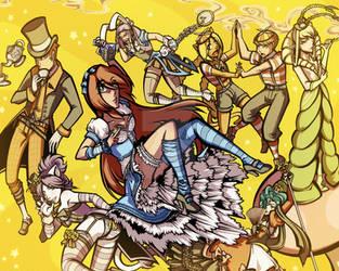 MR in Wonderland by savagesparrow