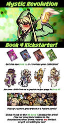 MR Book 4 Kickstarter Drive! by savagesparrow