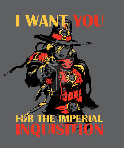 Join the Inquisition! by savagesparrow
