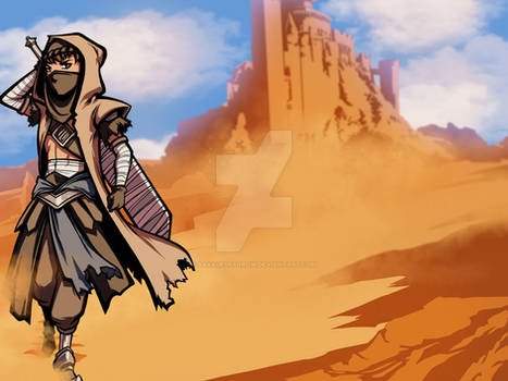 Toasty of the Desert by savagesparrow