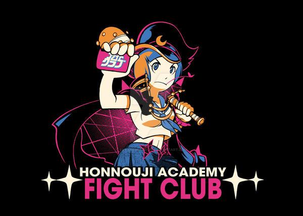 Honnouji Academy Fight Club! by savagesparrow