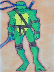 Leonardo Back to the Sewers