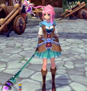 Me as DestinySkyHeart in Aura Kingdom