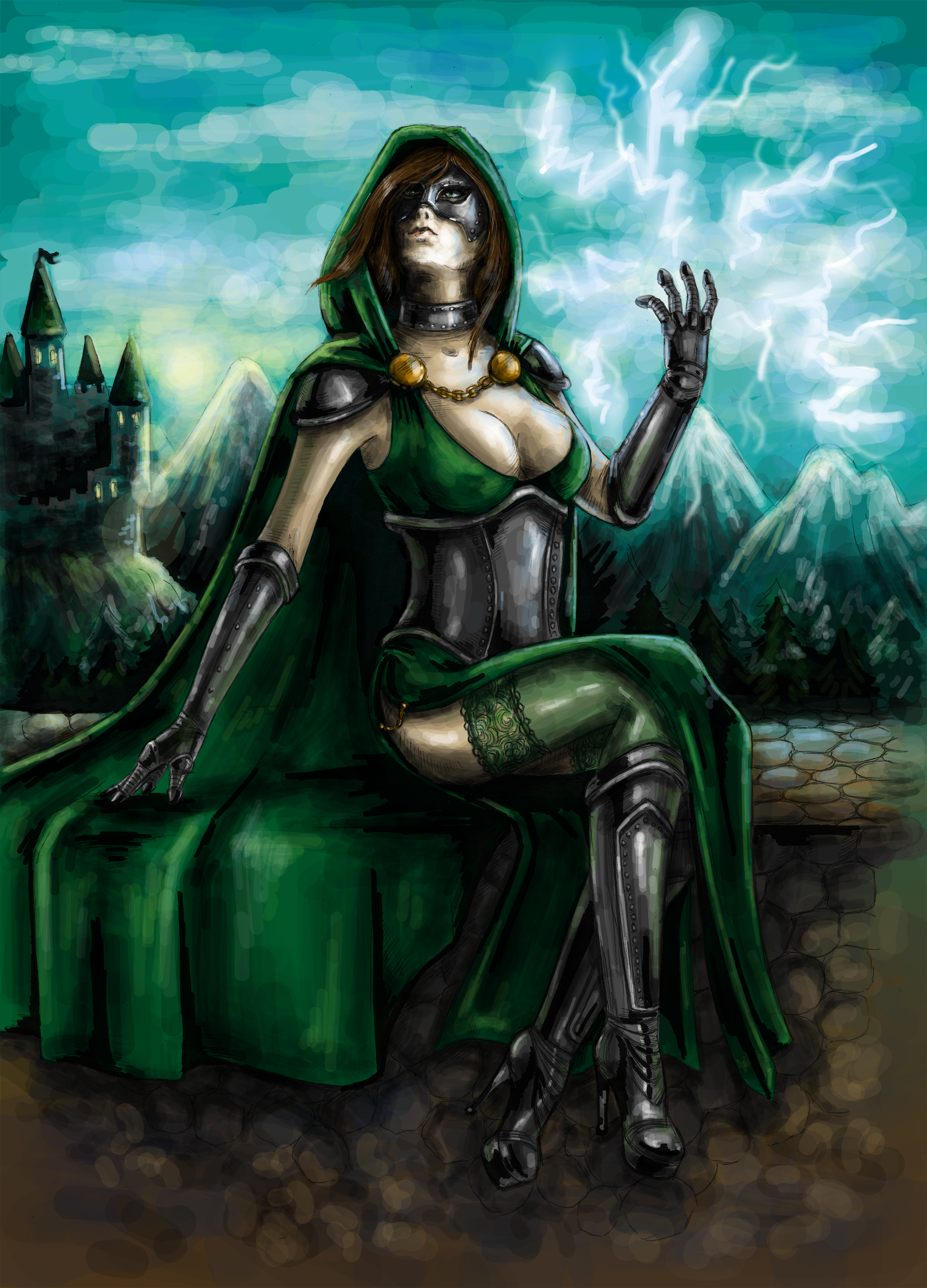 First Lady of Latveria by Irrisor-Immortalis