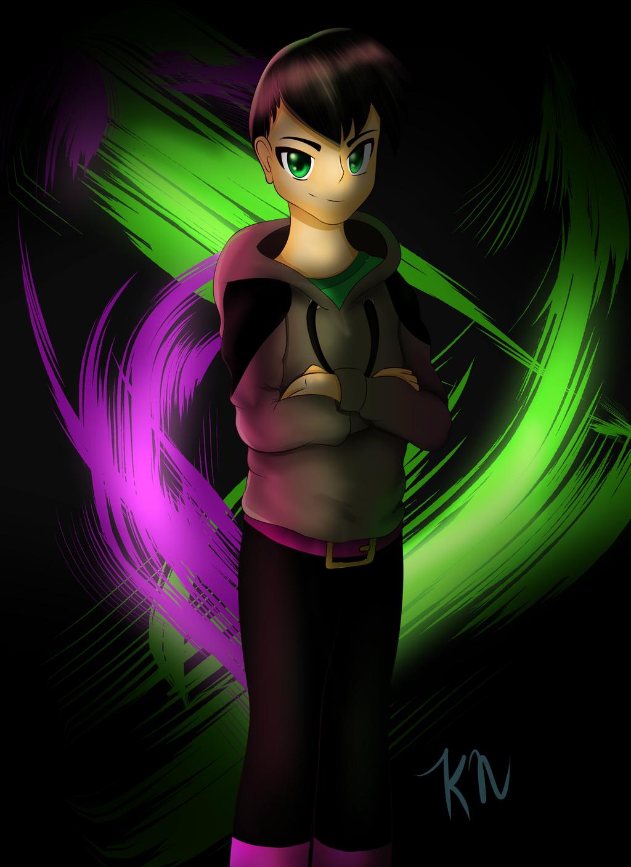 My Human OC by Maizox