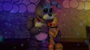 Bonnie x Toy chica
