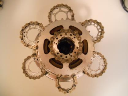 THE MOONBOT Candelabra 4 Pic A by davesbikeartstuff