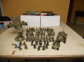 1024th UNSC Marine Regiment by ilLIZtrator