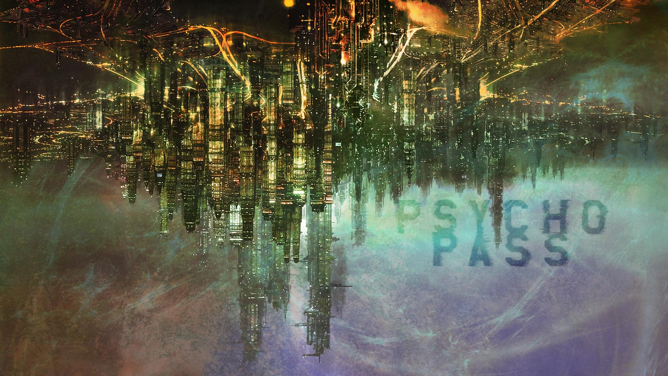 futuristic city desktop background