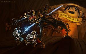 RUN FASTER MUGMAN by Rile-Reptile