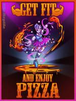 Ballerina Pizza Dance by Rile-Reptile