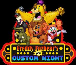 Freddy Fazbears's NEW Custom Night Poster by Rile-Reptile