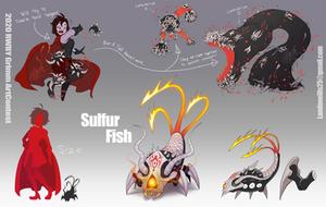2020 RWBY Grimm Contest Entry: Sulfur Fish