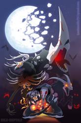 RWBY Grimm Art Contrest Poster: The Final 5