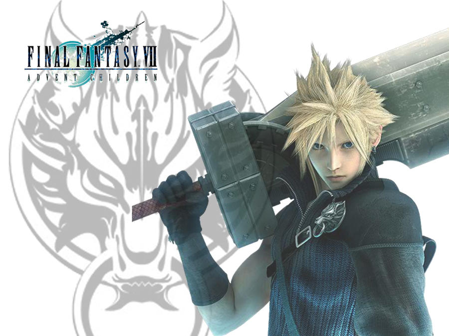 Cloud Strife Wallpaper By Emmimania On Deviantart