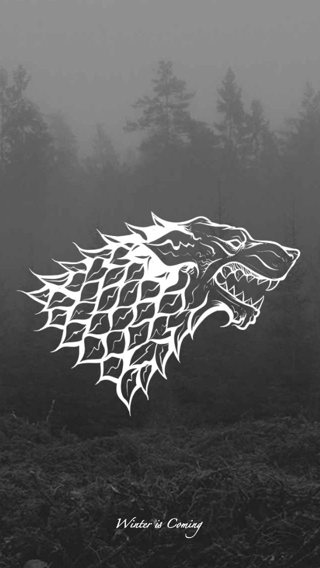 Game Of Thrones Wallpaper House Sigil Stark By Emmimania On