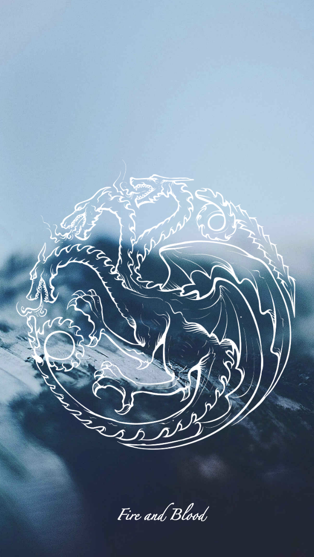 Game Of Thrones Wallpaper Sigil Targaryen By Emmimania