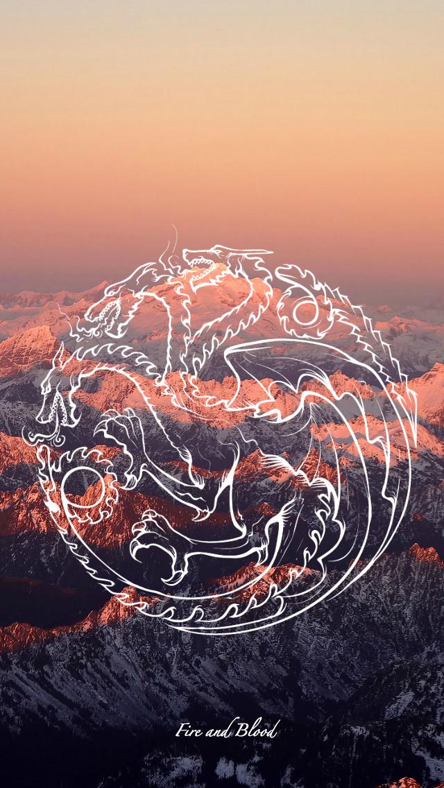 Game Of Thrones Wallpaper Sigil Targaryen By Emmimania On