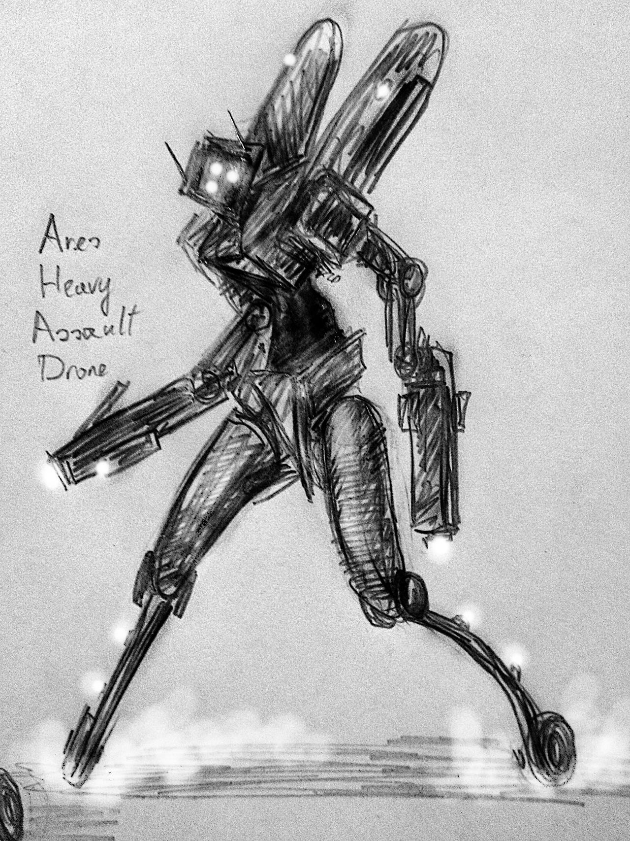 ares_heavy_assault_drone_by_huginthecrow
