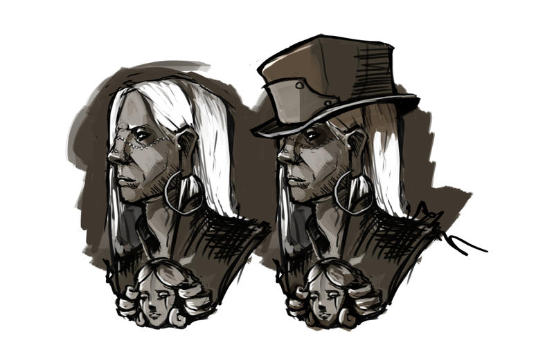 20140902 Hatter Portrait by Brightblacksun