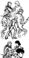 Illustration - step by step