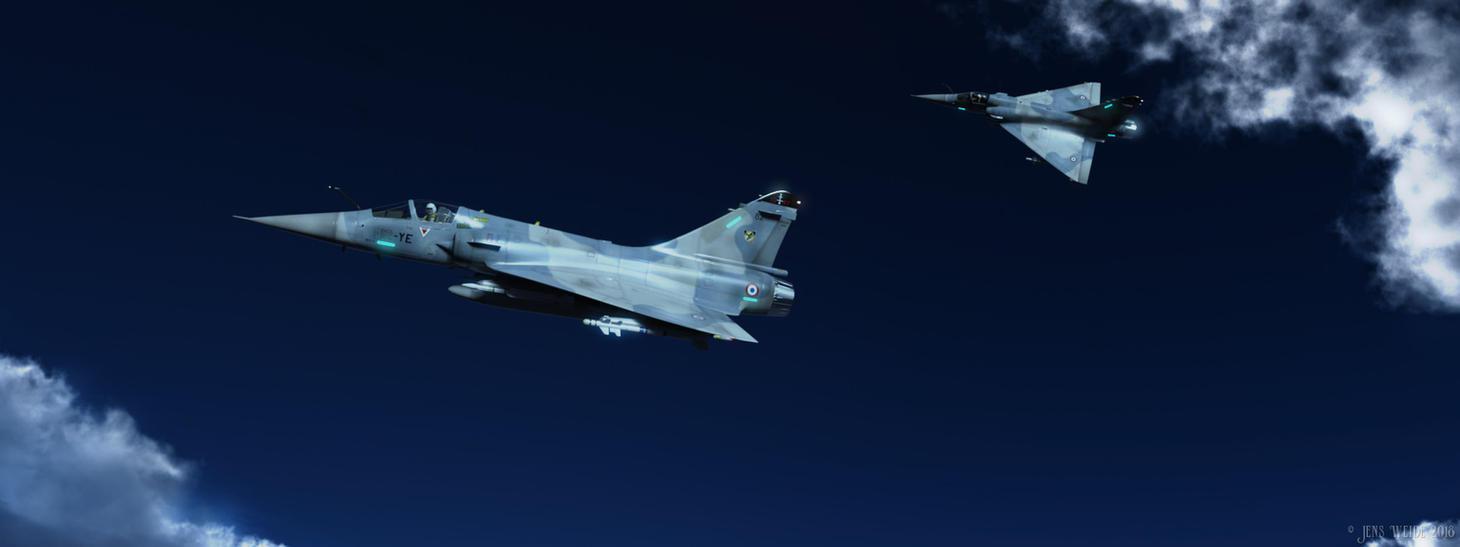 Mirage 2000C by JensDD