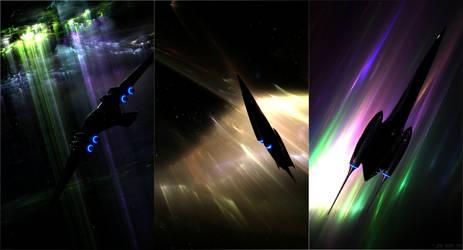 Star Wars Triptychon by JensDD
