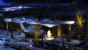 Starfleet Shipyard Earth by JensDD