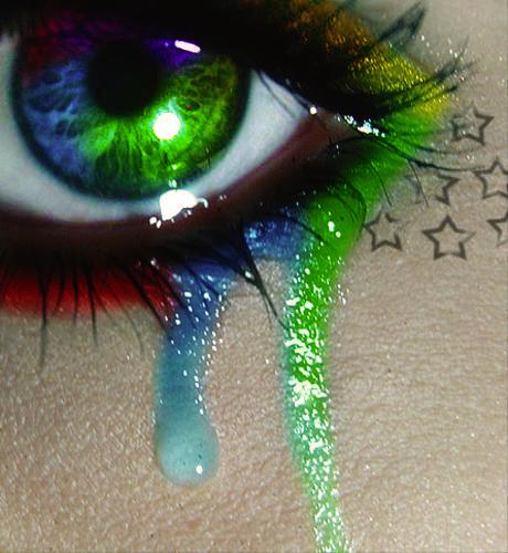 Colorful Eyes Crying I...
