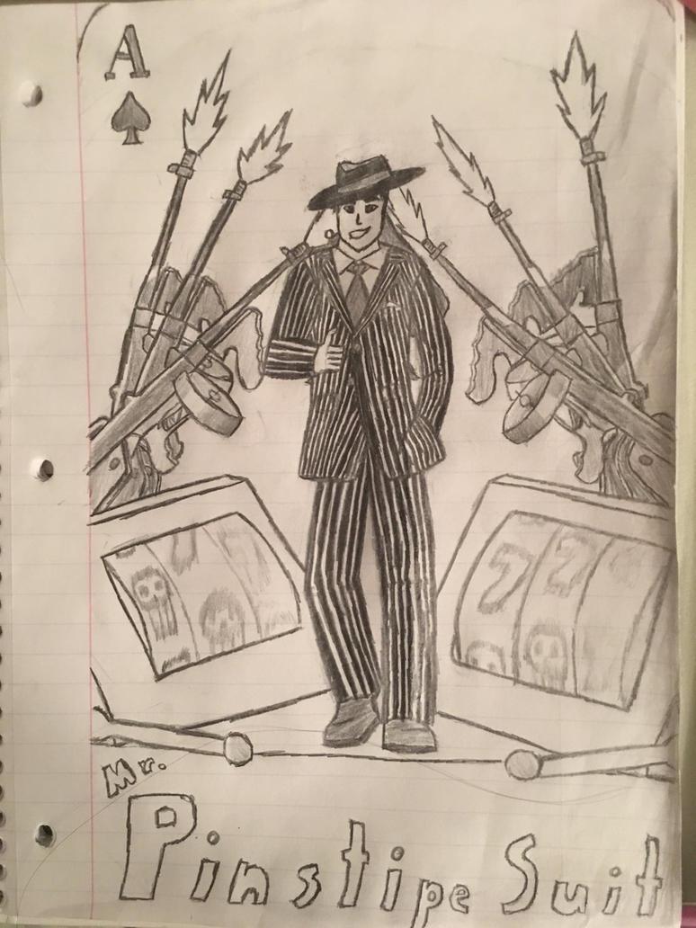 Mr. Pinstripe Suit by bludstanelain