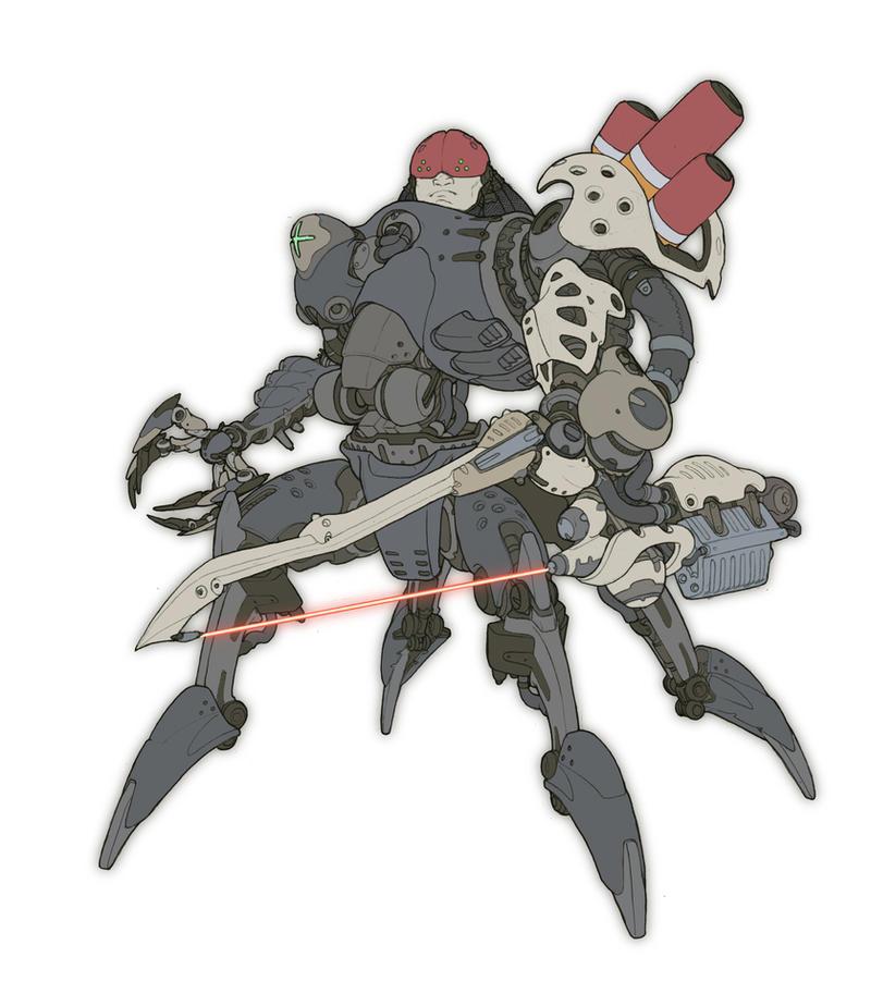 Cyborg by hughferriss